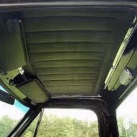 Installed Headliner Wrap